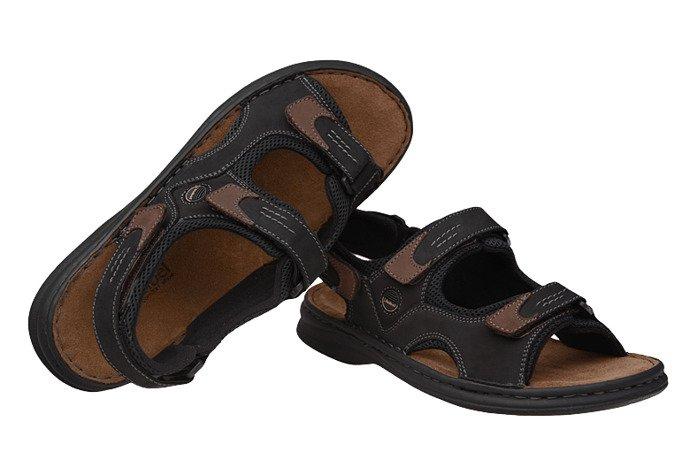 Sandały JOSEF SEIBEL 10236 Franklyn Czarne