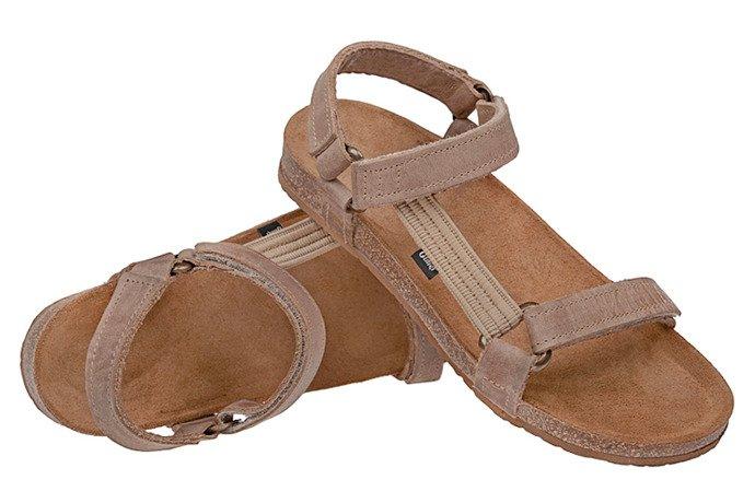 Sandały OTMĘT 405CP Beżowe SCH66 NaturForm Fussbett