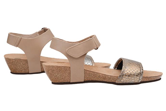 Sandały buty Dr Brinkmann 710784-8 Beżowe