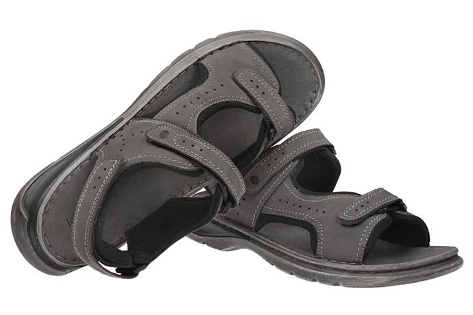 Sandały buty JOSEF SEIBEL 10112 Max Popielate XXL