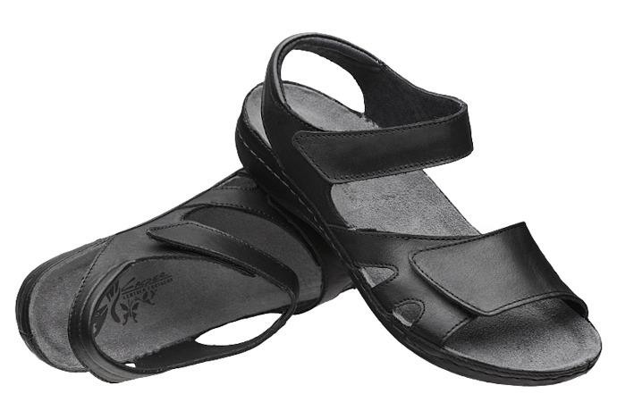 Sandały damskie KACPER 2-2513-253 Czarne