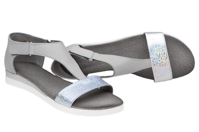 Sandały damskie VERONII 5208 Szare