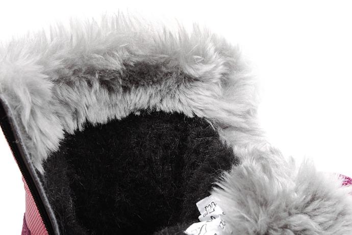 Śniegowce Trzewiki ocieplane BARTEK 24426-122 Różowe