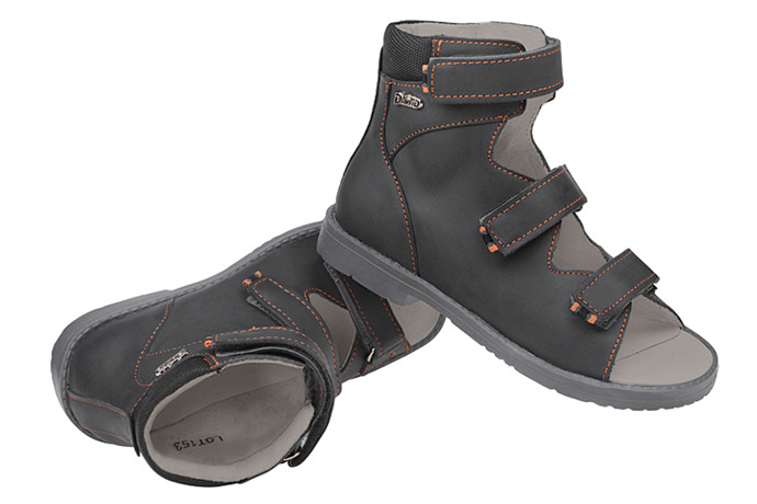 Trzewiki Profilaktyczne Ortopedyczne Buty DAWID 951 SZ Szary