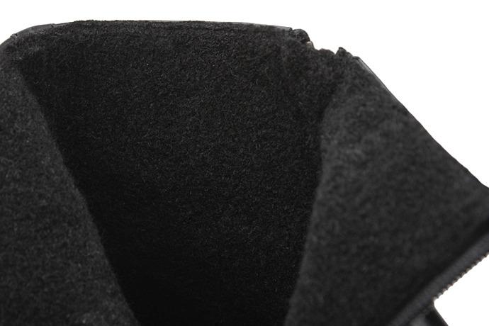 Trzewiki ocieplane Kozaki BADURA 5260-372 Czarne