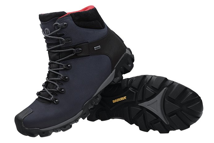 Trzewiki trekkingowe BADURA 4567-434 Granatowe
