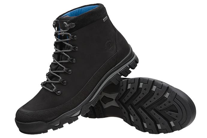 Trzewiki trekkingowe BADURA 4618-054 Czarne
