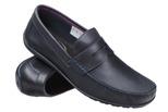 Mokasyny buty wsuwane KRISBUT 4925 Granatowe