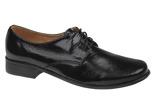 Półbuty komunijne wizytowe Lakierki buty KMK 99 Czarne
